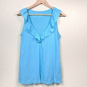Lilly Pulitzer Spa Blue Lindley Top